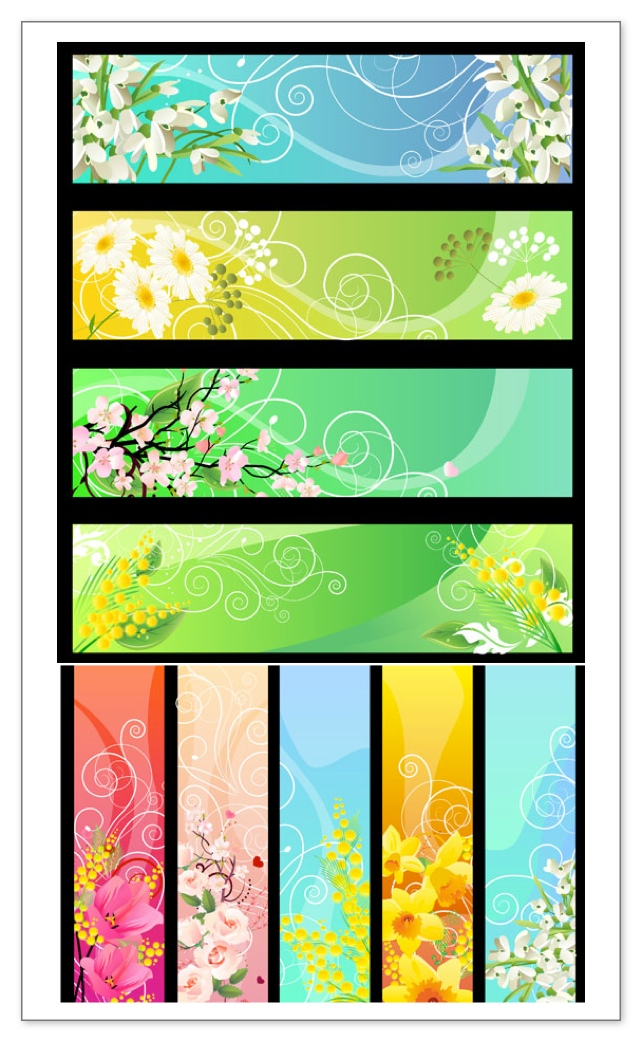 Free Vector Banner Templates
