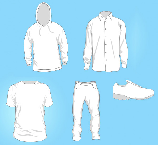 8 Free Vector Clothes Download Images
