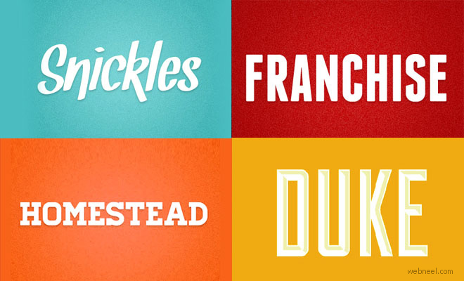 Graphic Design Fonts Free Download