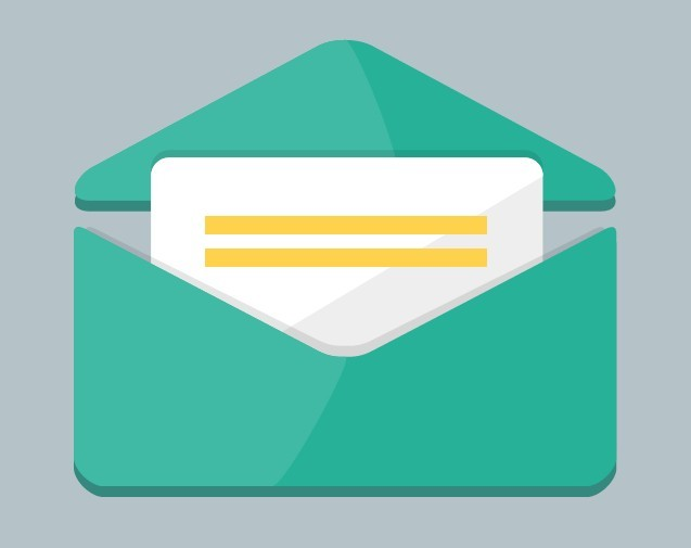Green Mail Envelope Icon