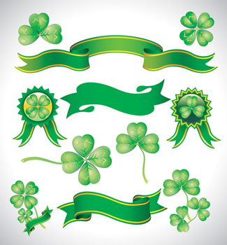 13 Green Ribbon Vector Free Images