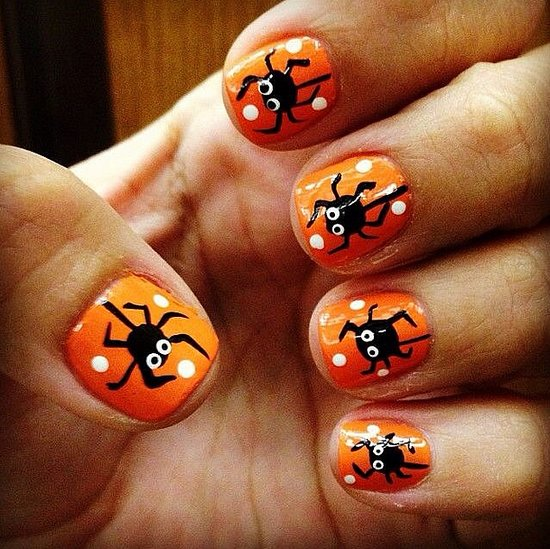9 DIY Halloween Nail Designs Images