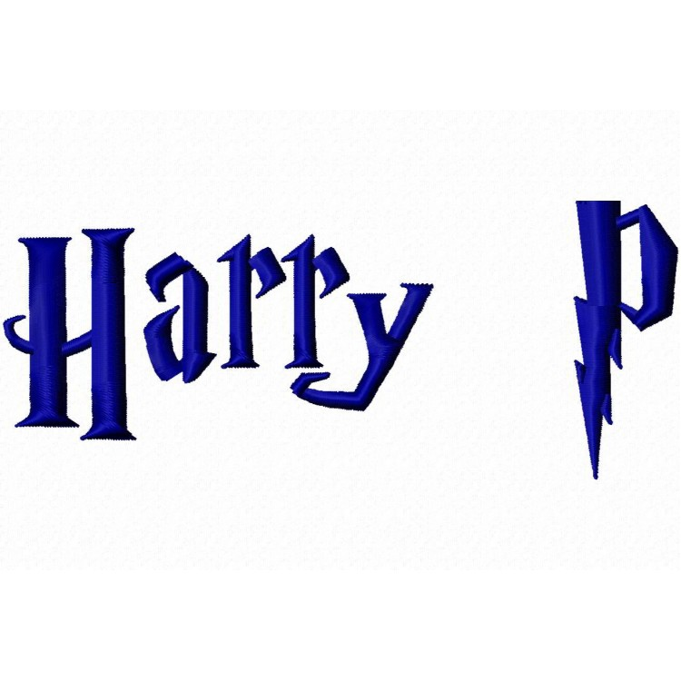 Harry Potter Embroidery Font