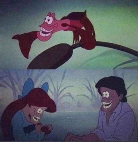 Hilarious Creepy Face Swaps