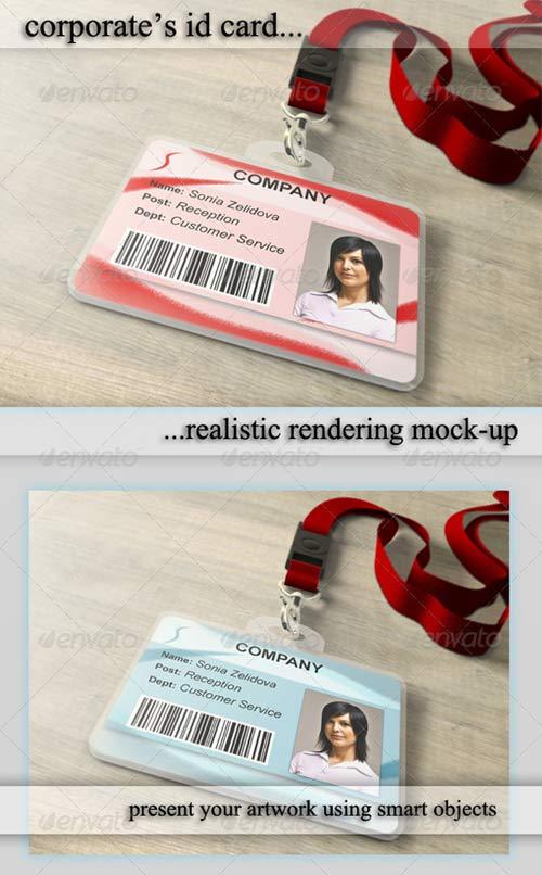 ID Card Template Photoshop