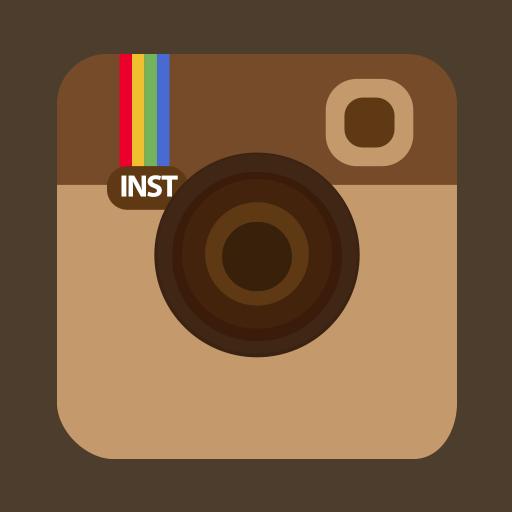 Instagram Flat Icon Transparent