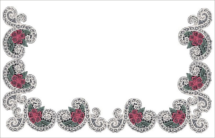 14 Lace Border Designs Images  Free Printable Lace