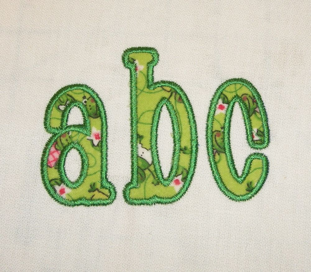 16 Fonts For Embroidery Machine Applique Images