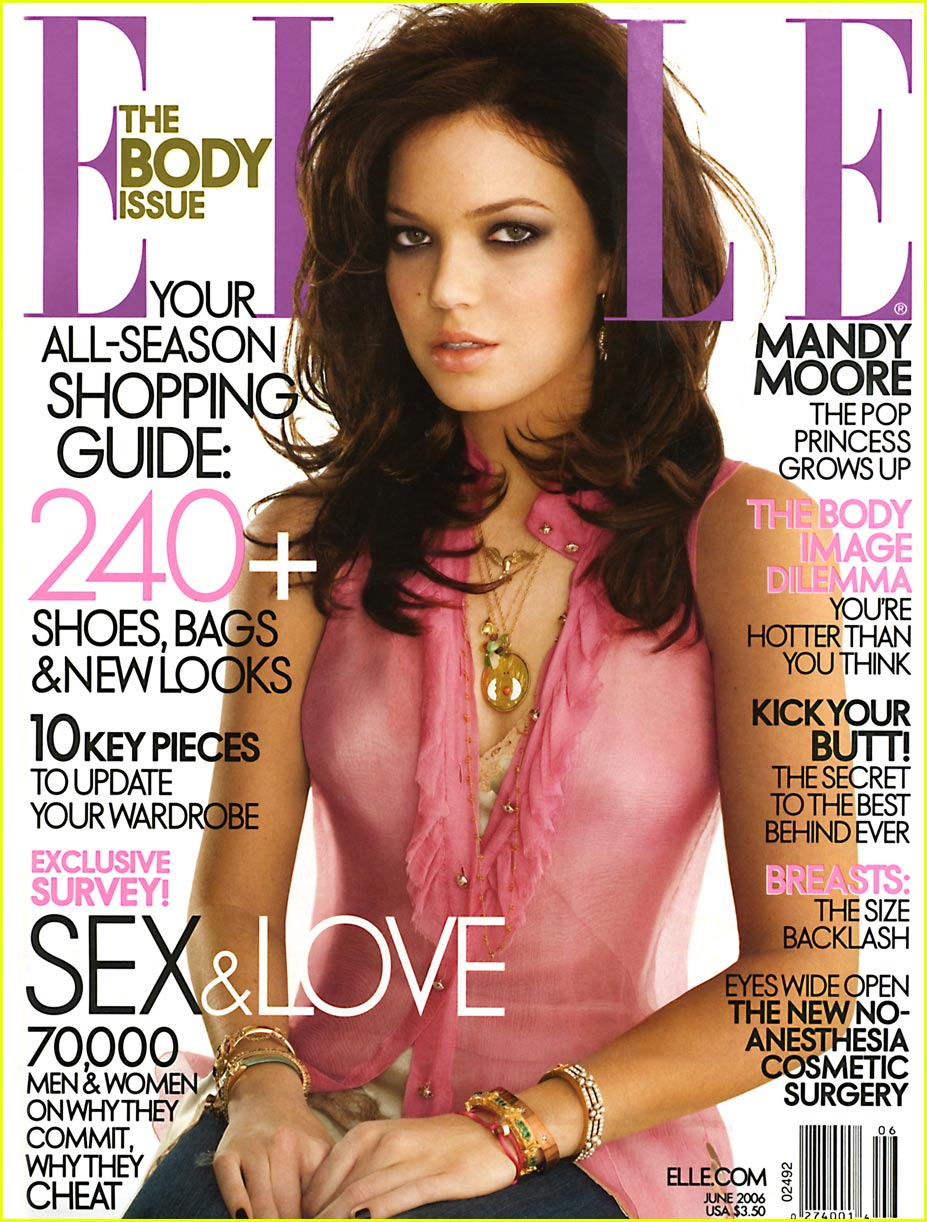 Mandy Moore Magazine Cover