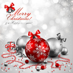 9 Christmas Ornament PSD With Layers Images