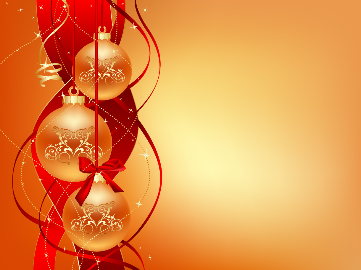 14 Christmas Ornament Vector Wallpapers Images