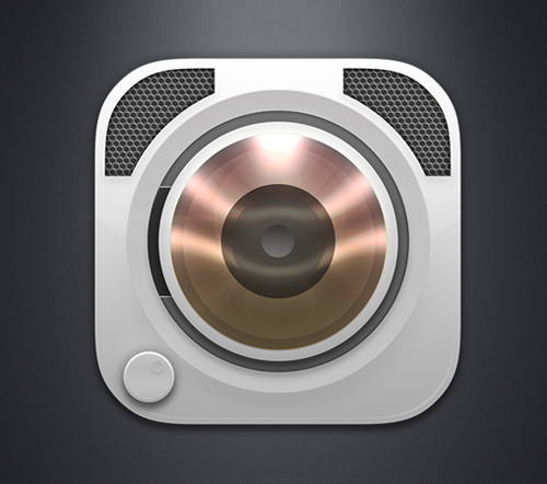 Music Player App for iPhone Icon