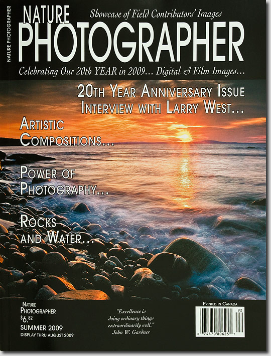Nature Photography Magazine Covers