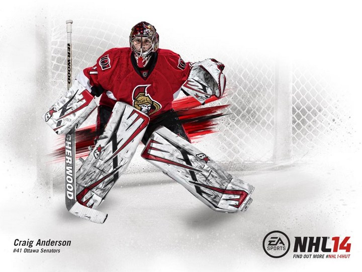 6 NHL 14 Cover Template PSD Images