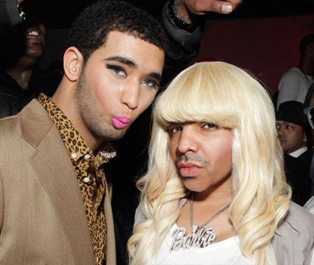 Nicki Minaj and Drake Face Swap