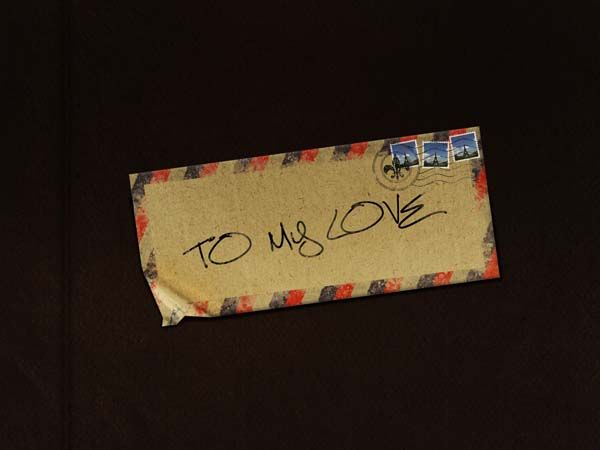Old Love Letters and Envelopes