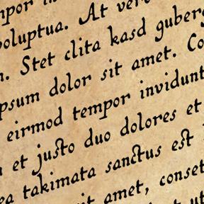 Old World Handwriting Font
