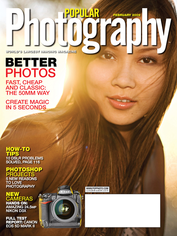 Popular Photography Magazine Cover