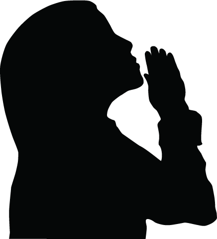 11 Free Vector Clip Art Of Women Praying Images
