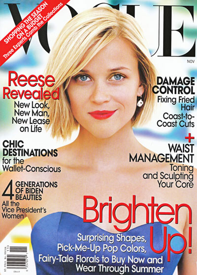 Reese Witherspoon Vogue Cover