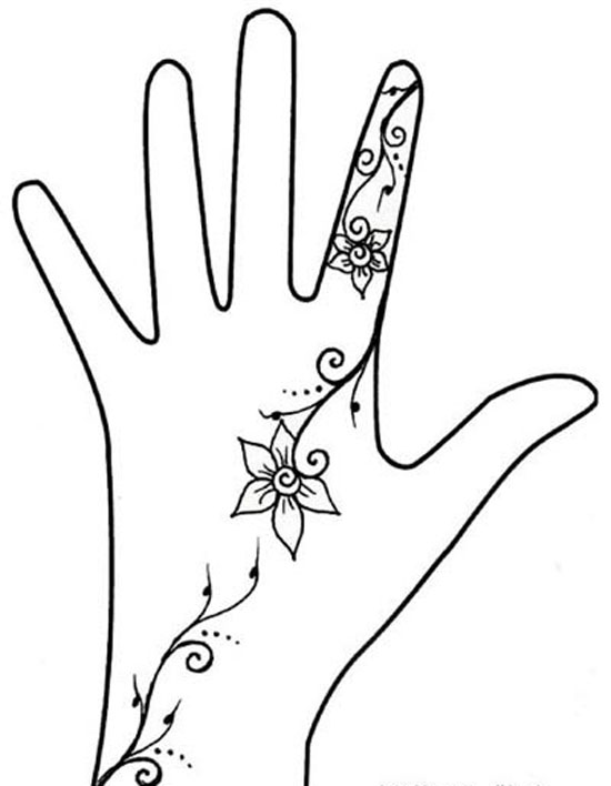 17 simple graphic design hands images cool easy designs for Cool designs to draw on your hand