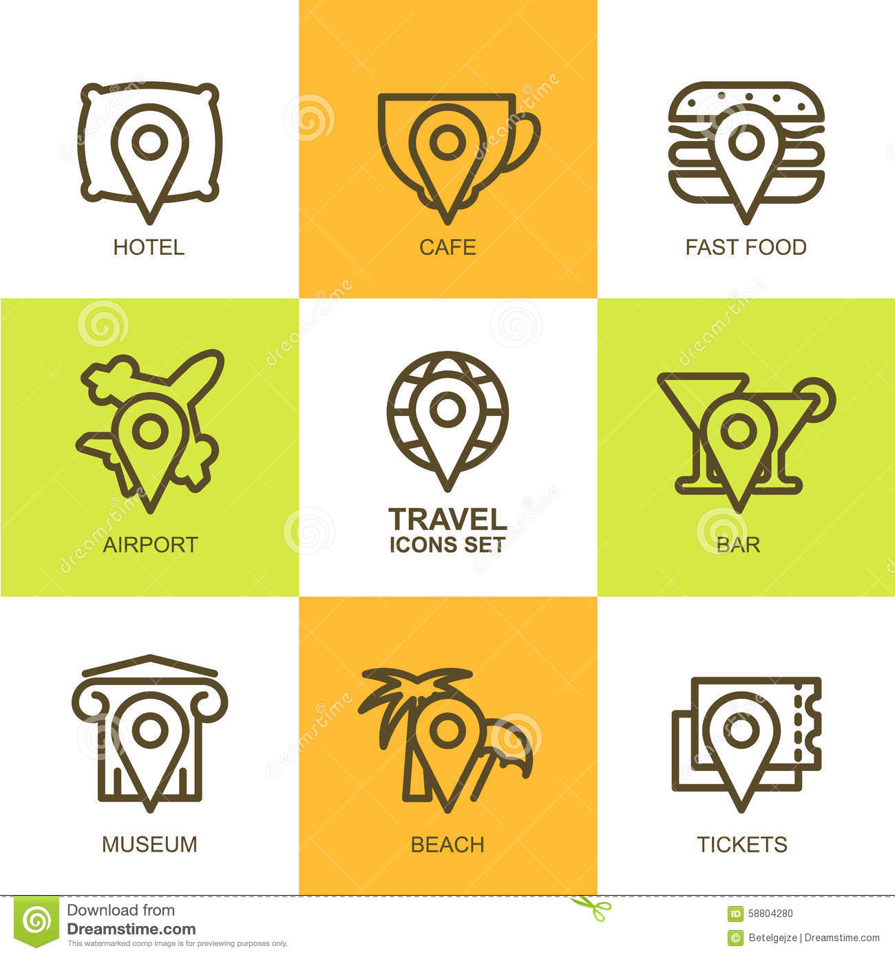 Simple Icons Symbols