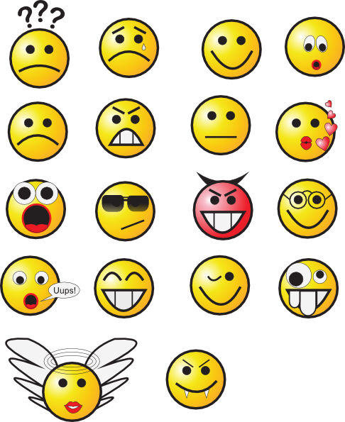 Small Smiley Face Clip Art