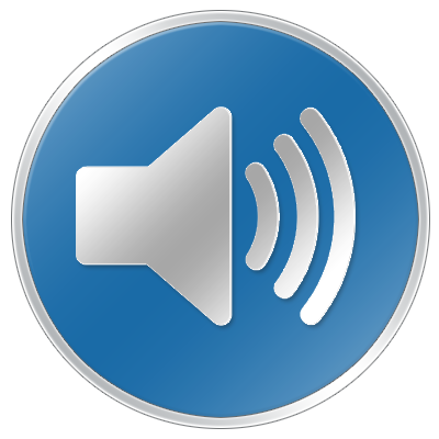 Image result for listen speaker button png