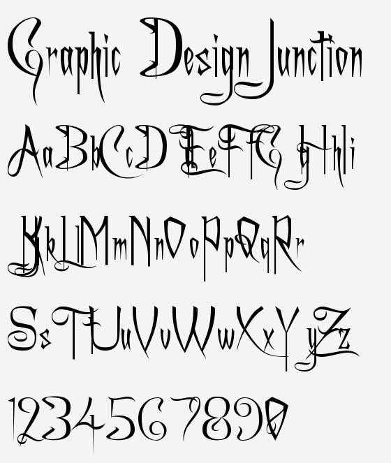 Tattoo Lettering Fonts Free Download