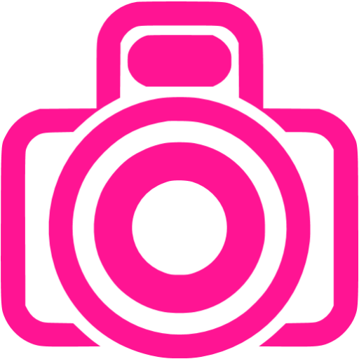 6 Pink Camera Icon Images