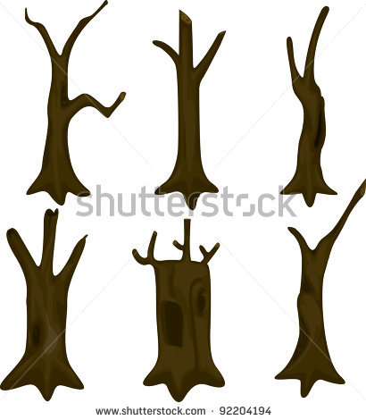 17 Tree Trunk Vector Images