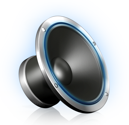 14 PNG 3D Speaker Icons Images