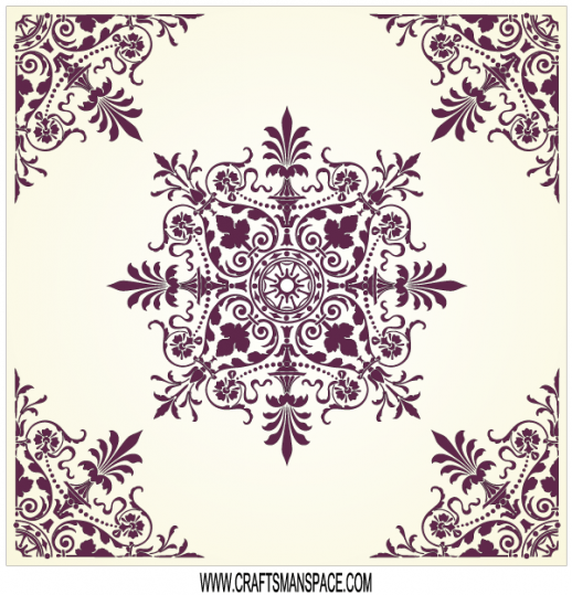 Victorian Ornament Border Clip Art