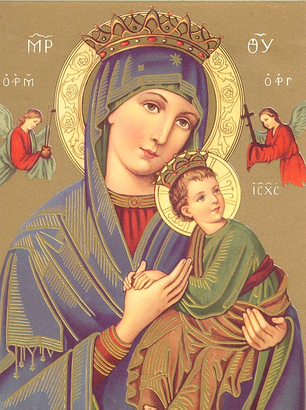 15 Icon Mary And Jesus Images
