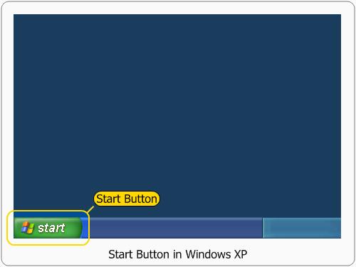 Windows XP Start Button