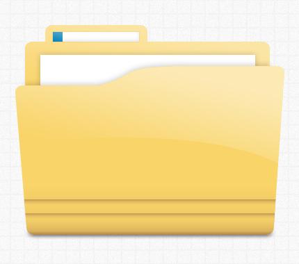 Yellow Folder Icon