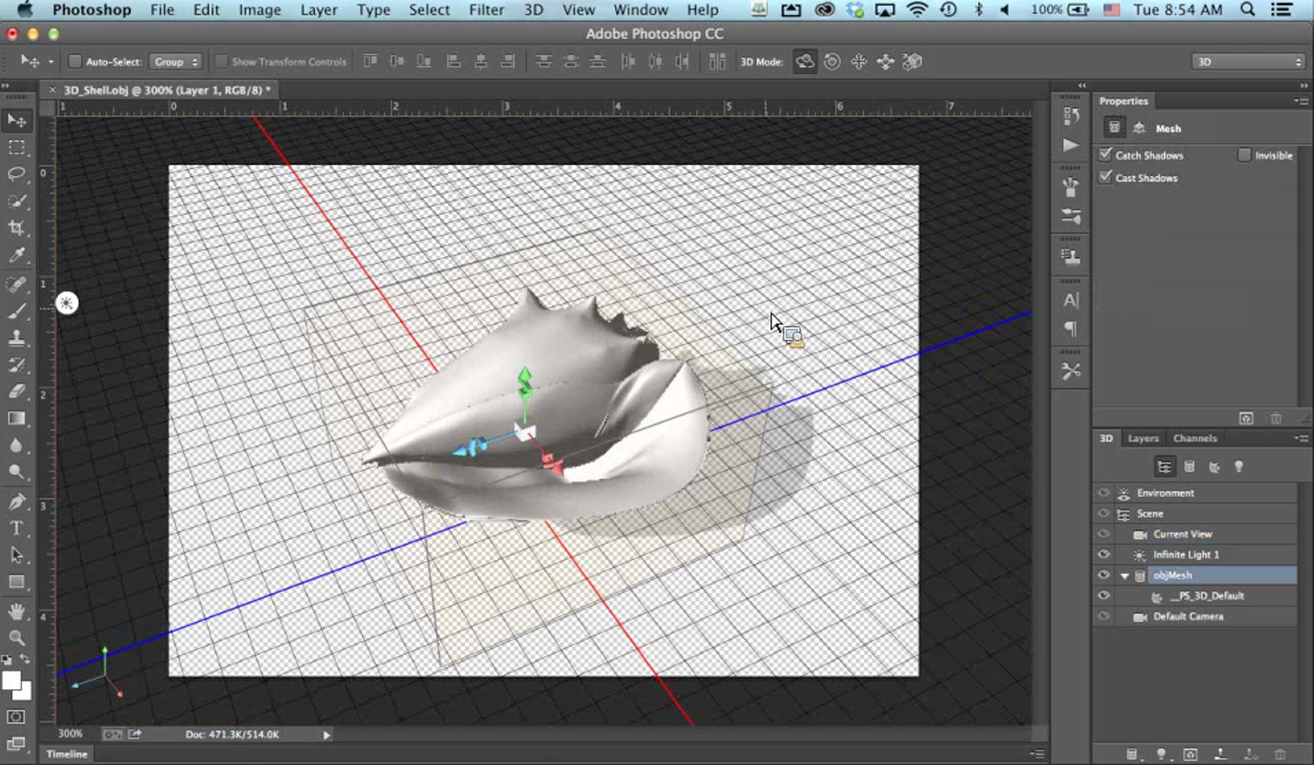 Adobe Photoshop CC 3D Printing