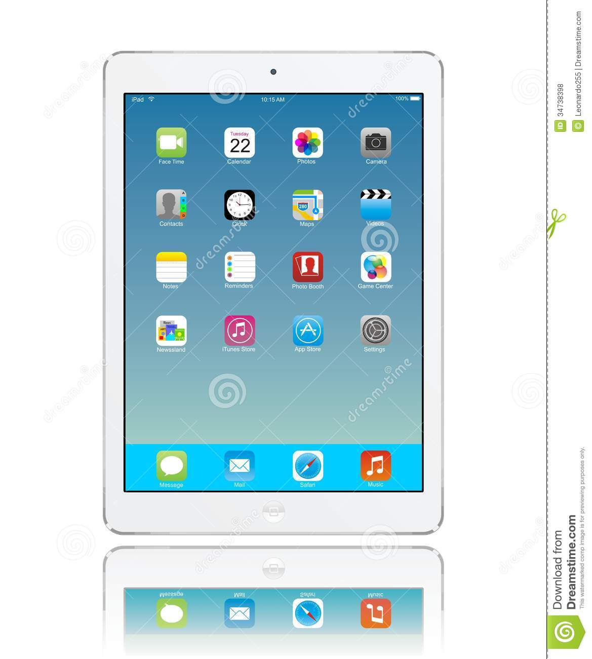Apple Air iPad Icons