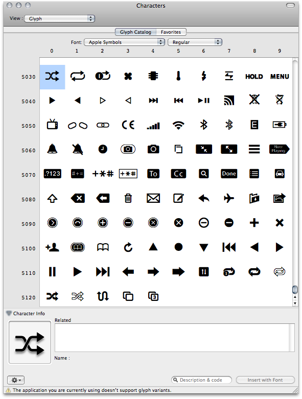 Apple Iphone Symbols On Screen Clipart Library
