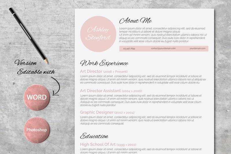 Beautiful Resumes Graphic Design