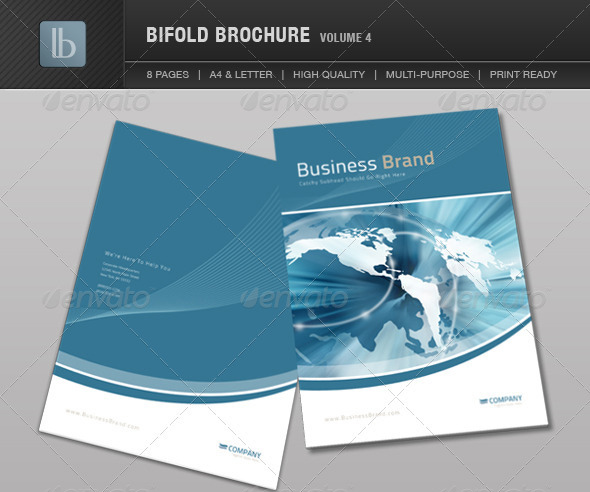 10 4 page brochure template images brochure templates for Four page brochure template