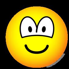 Big Eye Smiley Emoticon