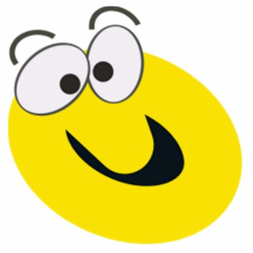 Big Smiley Face Cartoon