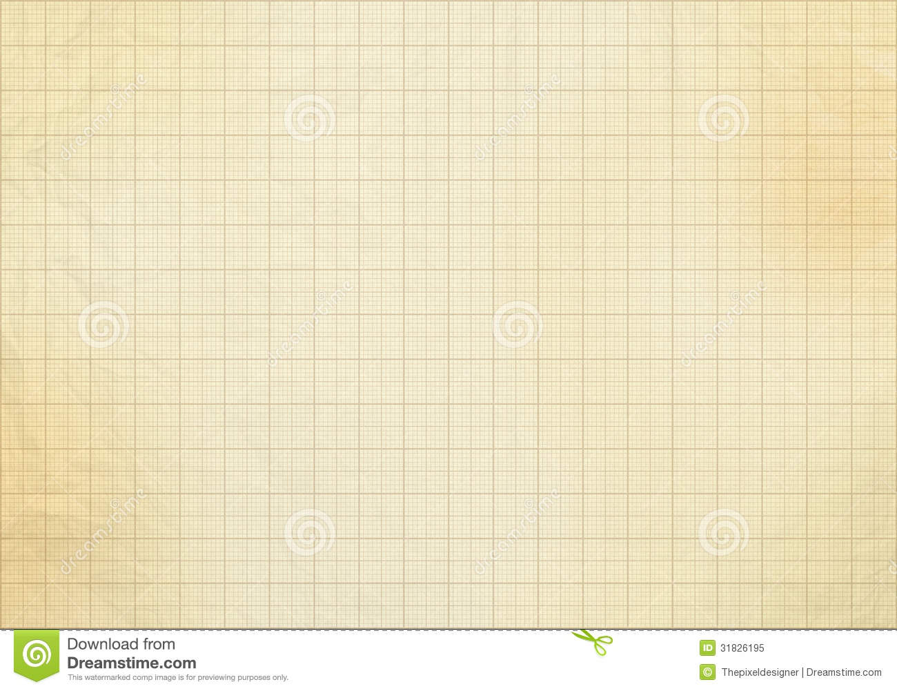 Blank Graph Paper Grid