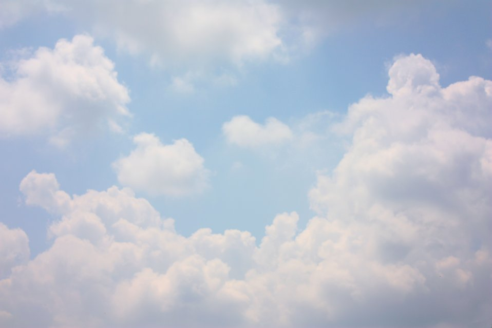 Blue Skies White Clouds