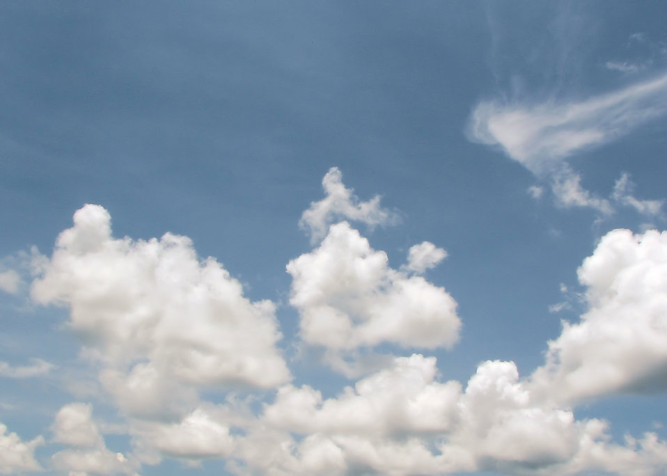Blue Sky Clouds Free Stock