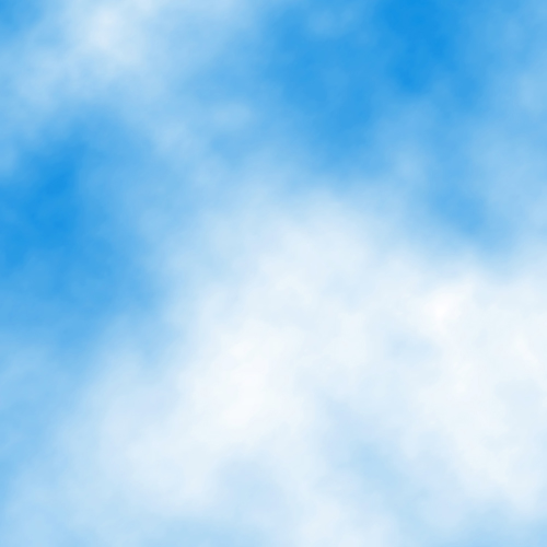 14 Blue Sky Clouds Vector Images