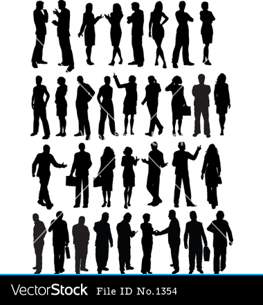 15 Vector People Outline Images