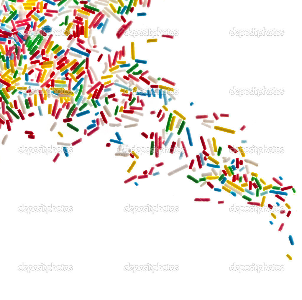 7 Candy Sprinkles Clip Art PSD Images