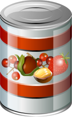 Canned-Food PSD